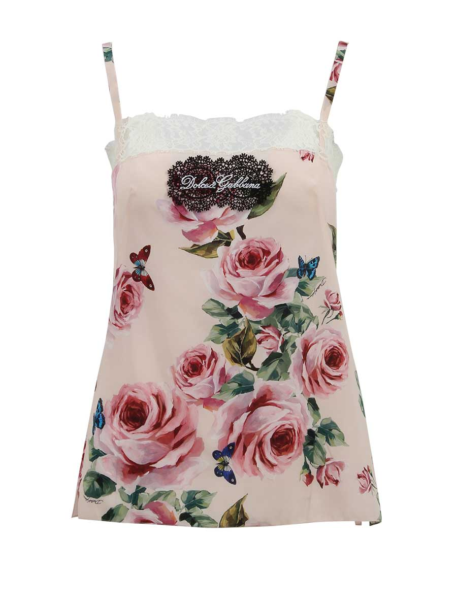 Dolce & Gabbana Floral Top