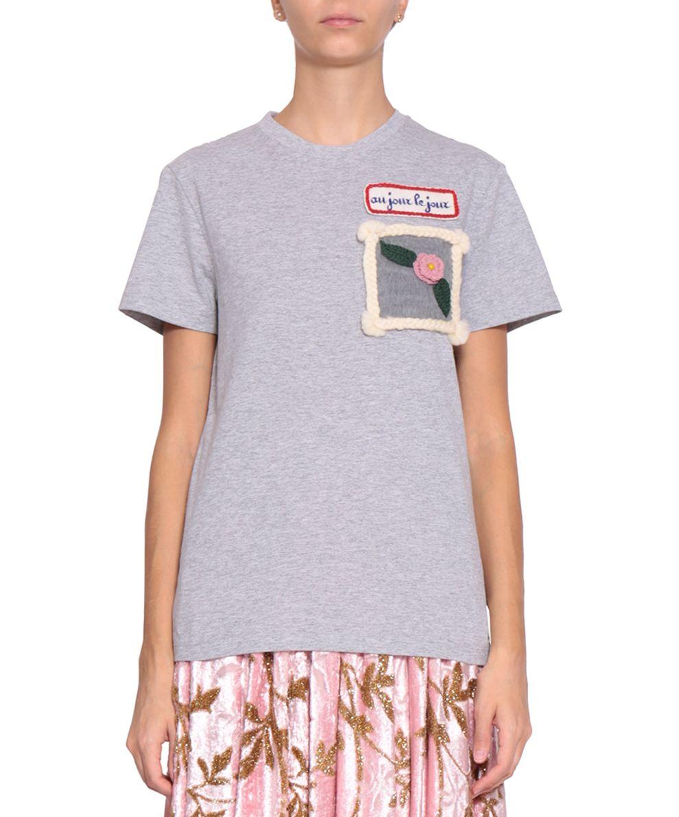 Au Jour Le Jour Cotton T-shirt