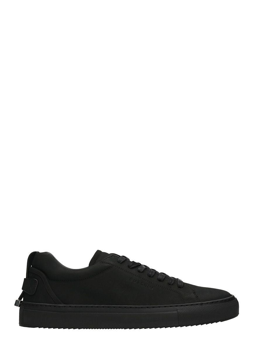 Buscemi Black Lindon Nabuk Sneakers