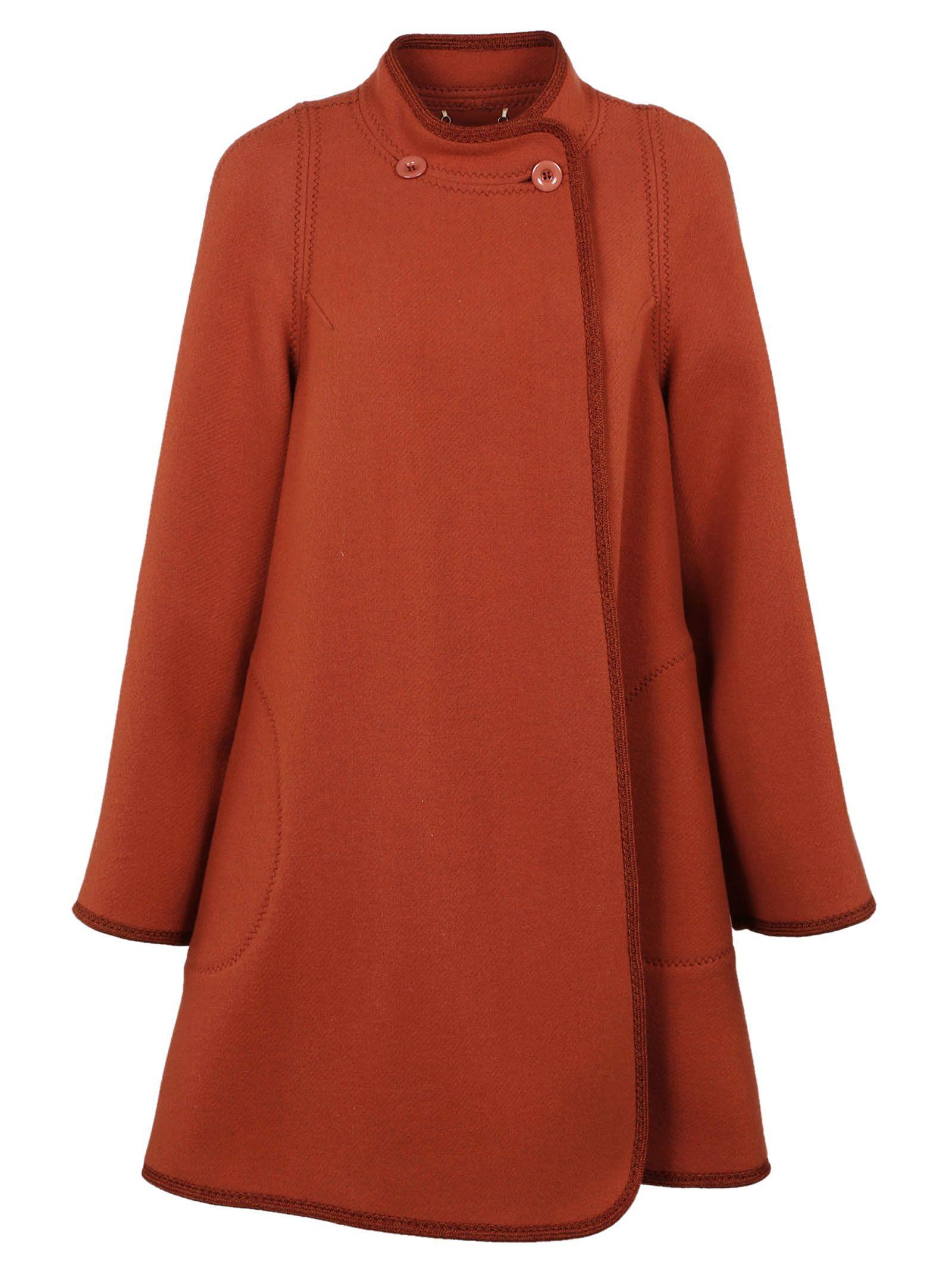 Chlo? Oversized Cocoon Coat