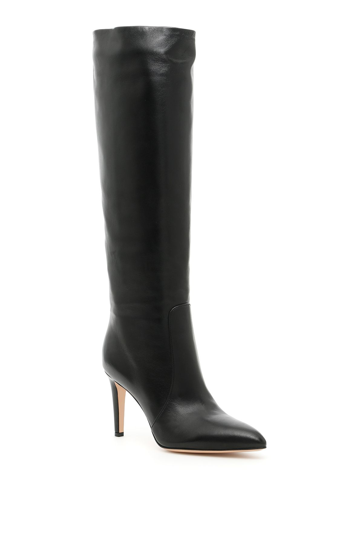 Nappa Boots in Blacknero