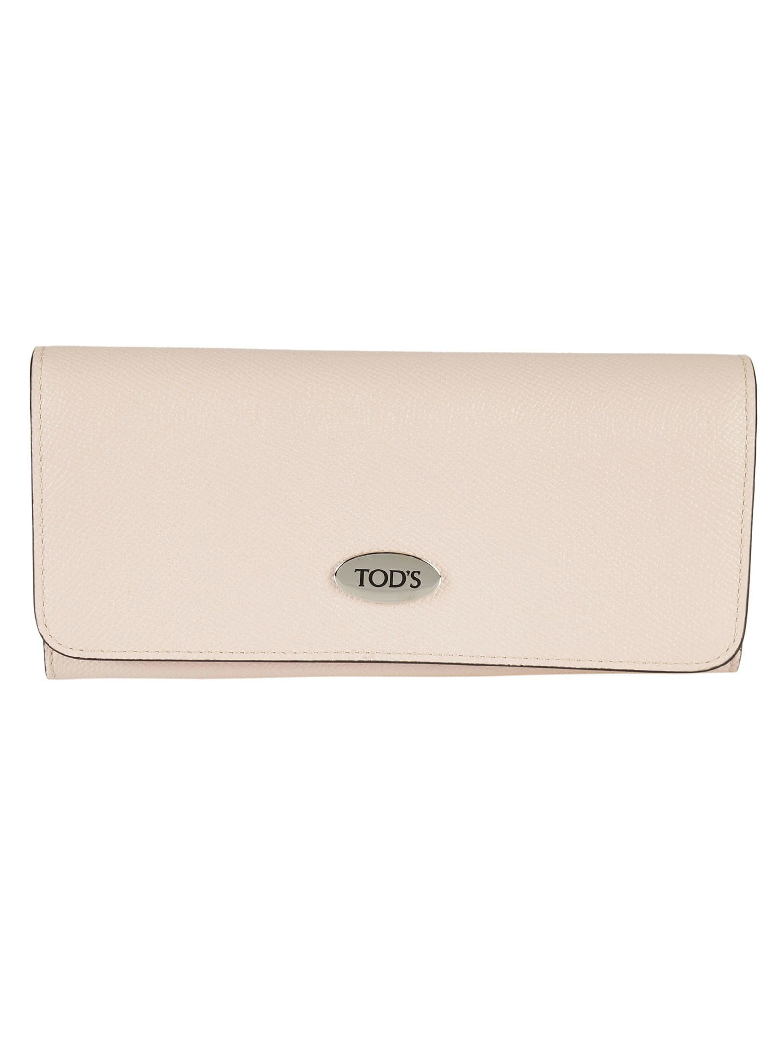 Tods Logo Continental Wallet
