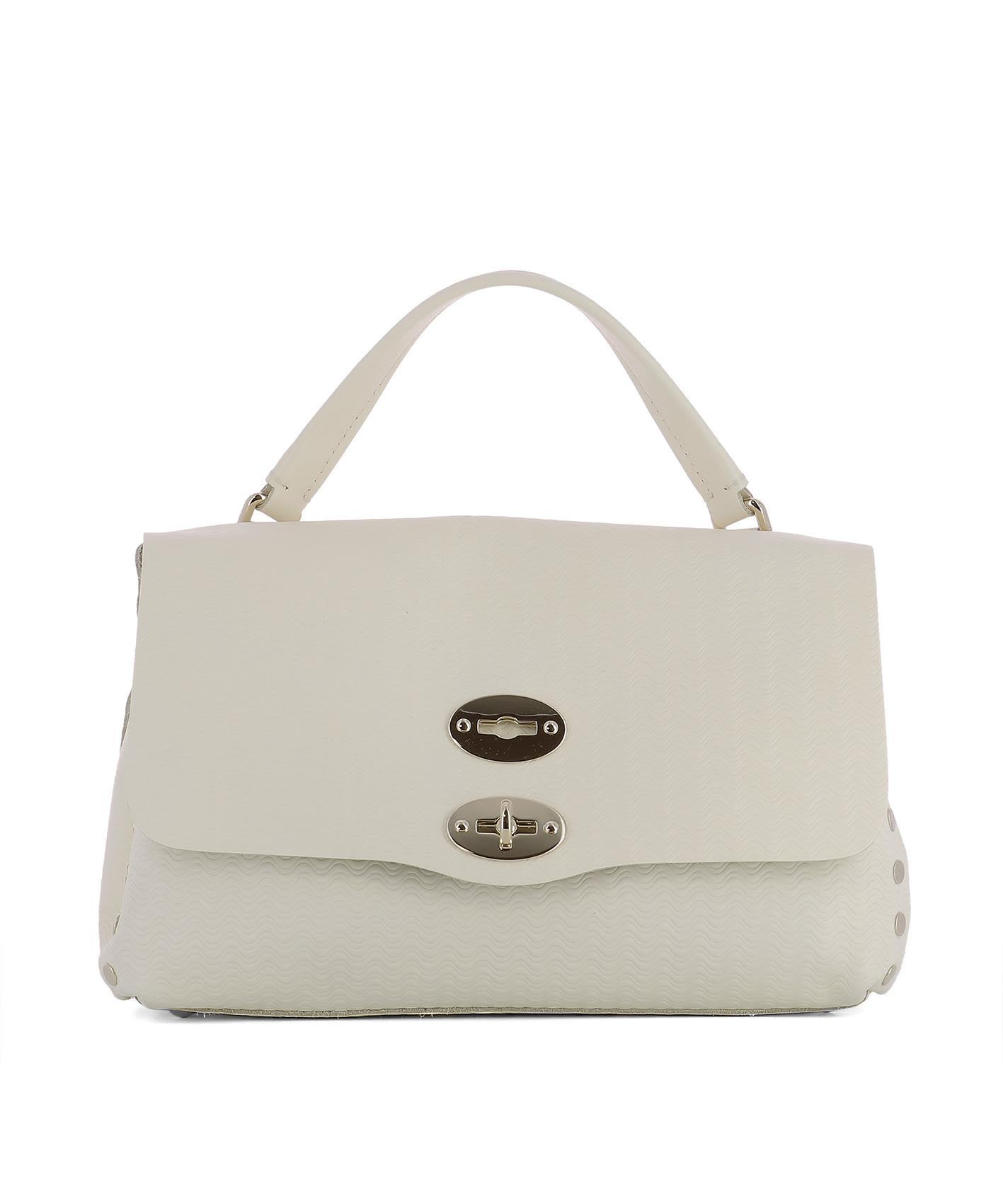 White Leather La Postina