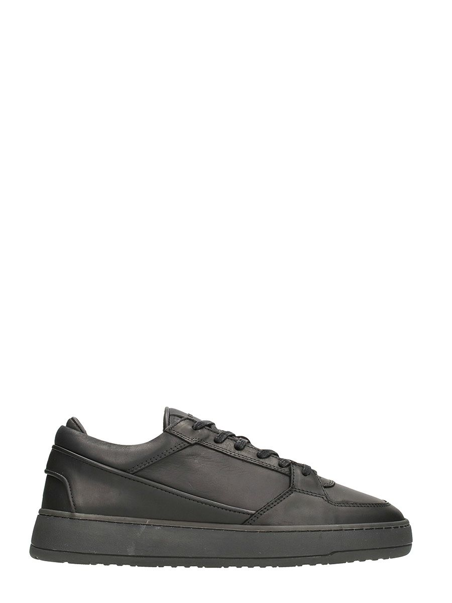 Etq. Sneakers Low 3 In Black Leather