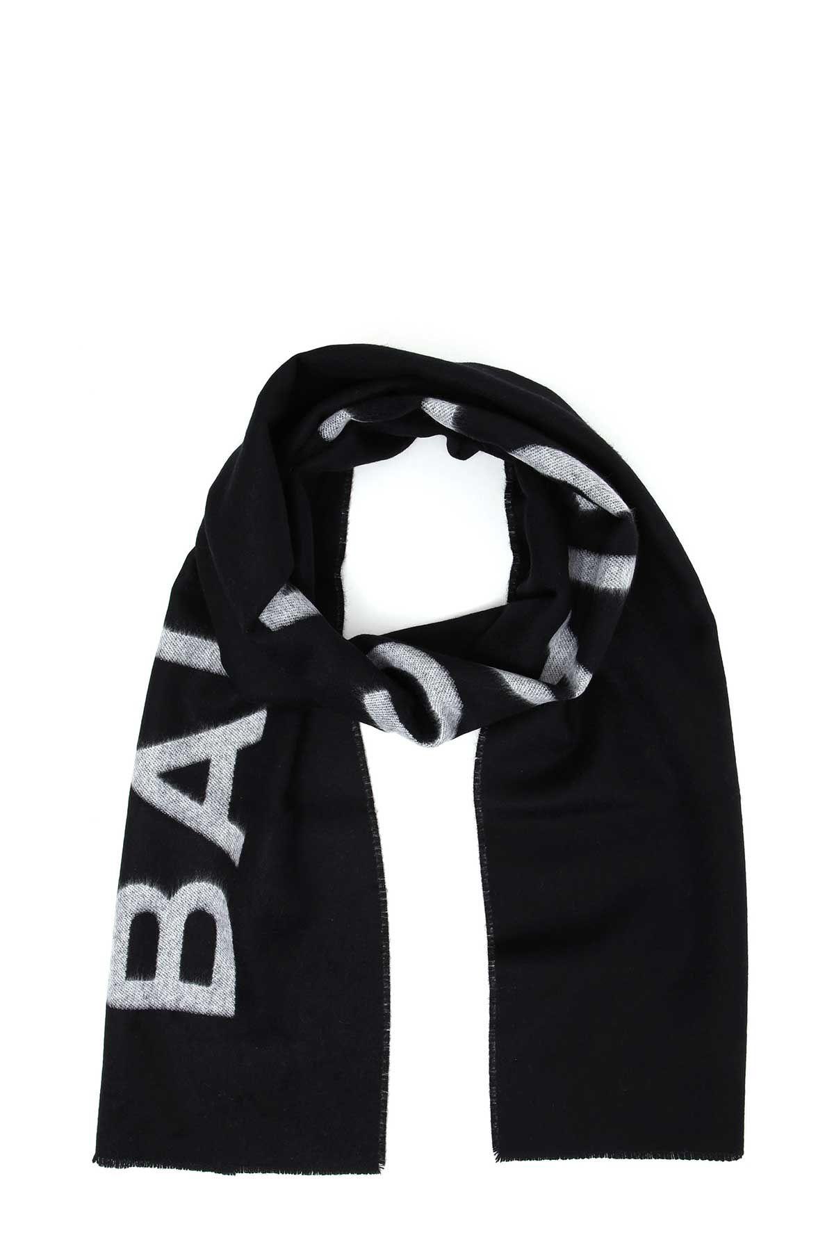 Balenciaga Cashmere Scarf With Logo