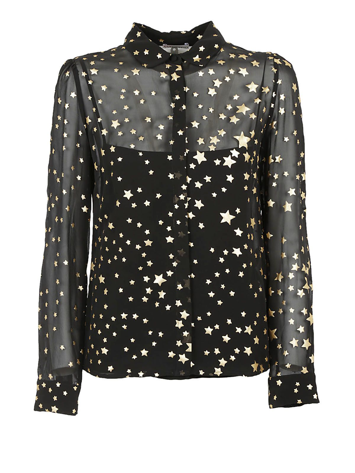 Red Valentino Star Blouse
