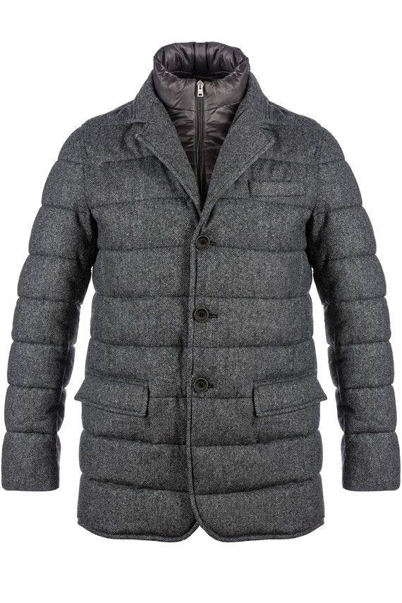 Herno Down Jacket In Jersey