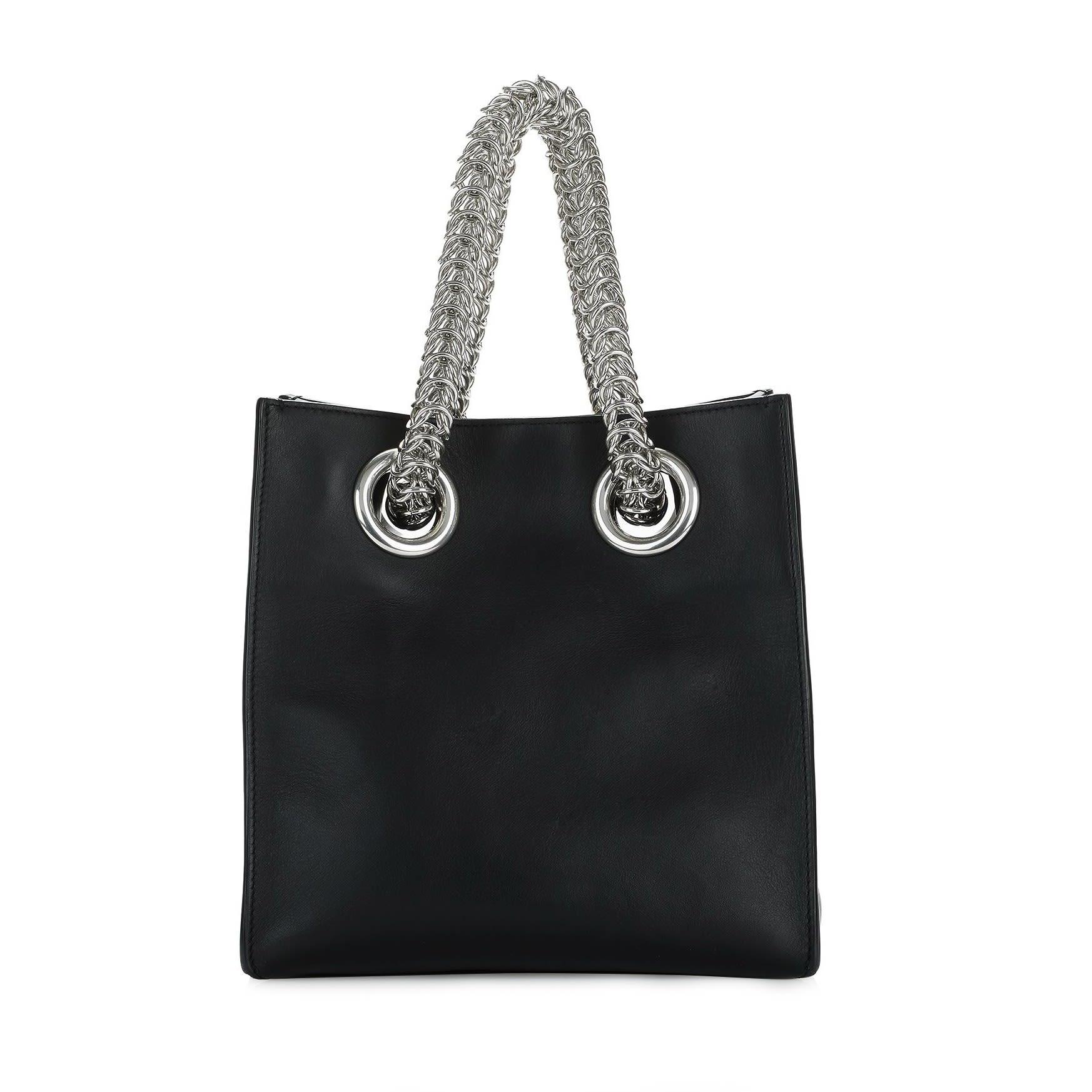 Alexander Wang Black Genesis Shopper Bag