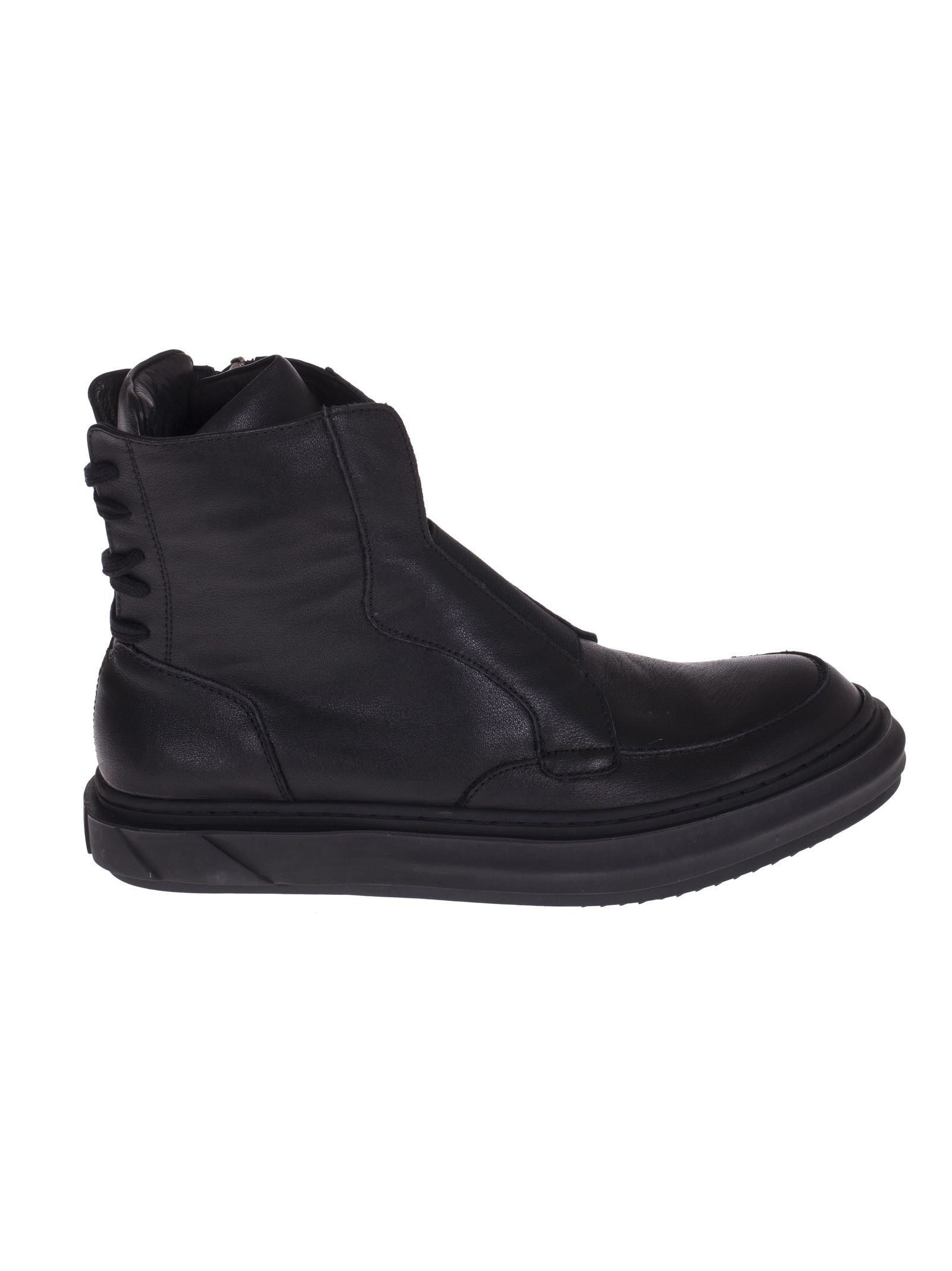 D.gnak Back Lace Fastening Hi-top Sneakers