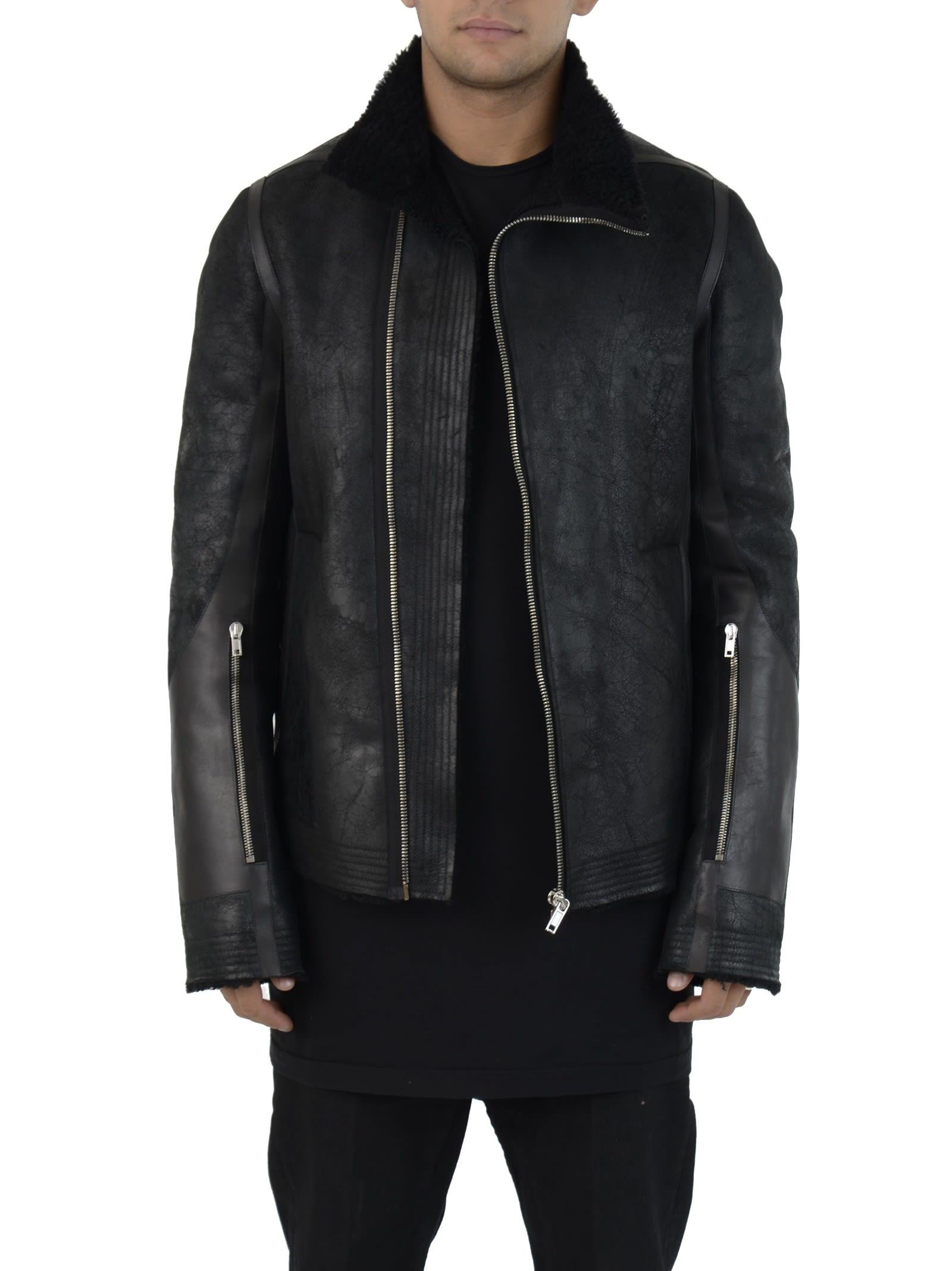 Rick Owens Black Mollino Jacket