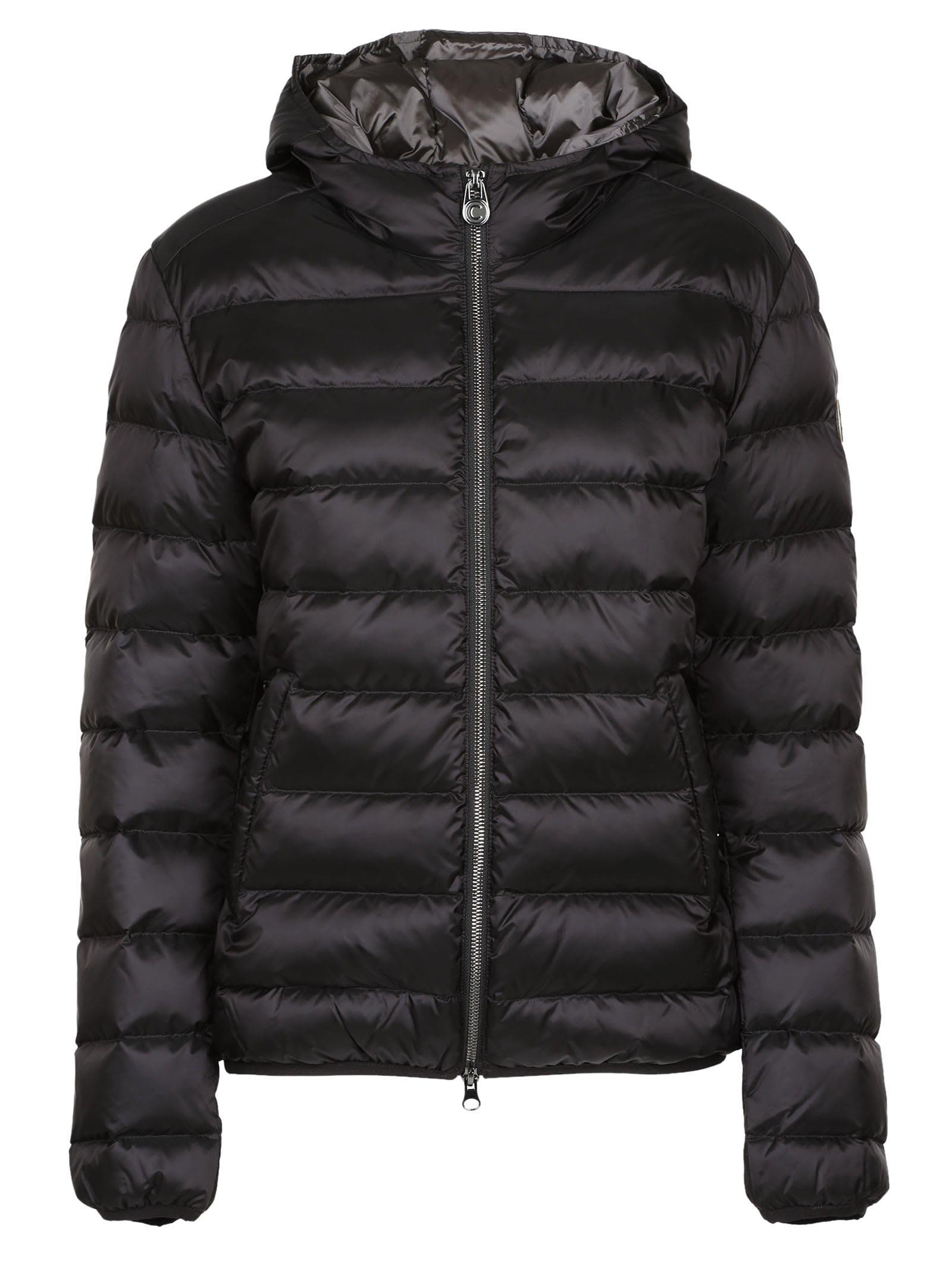 Colmar - Colmar Zipped Padded Jacket - Black, Women's Down Jackets ...