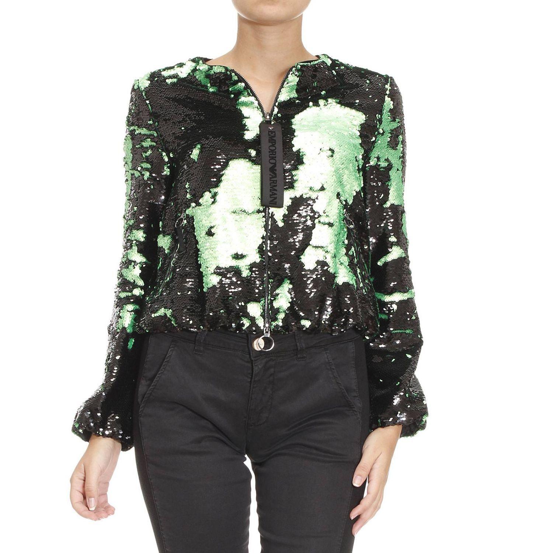 Blazer Suit Jacket Woman Emporio Armani