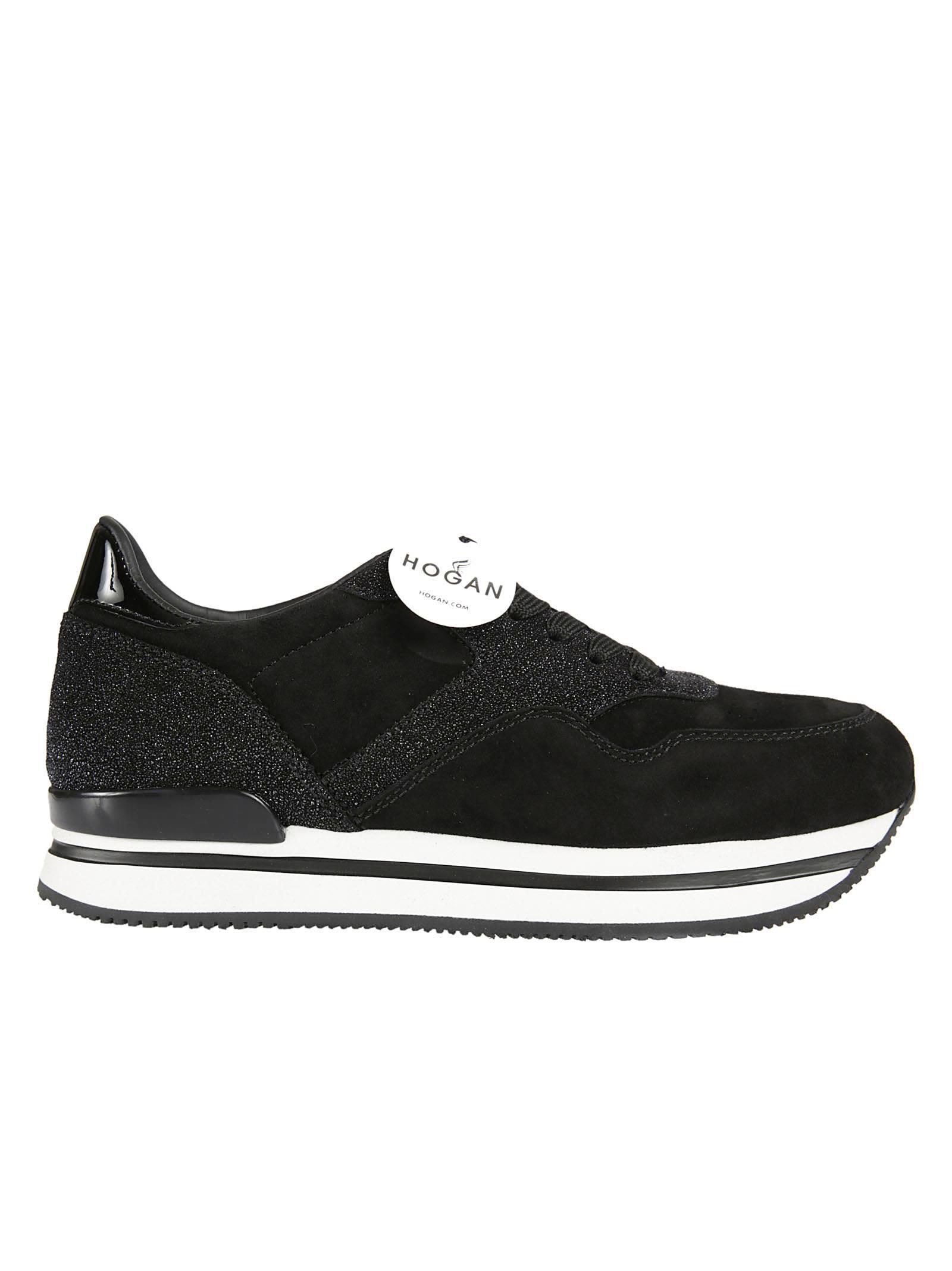 Hogan Glitter Detailed Platform Sneakers