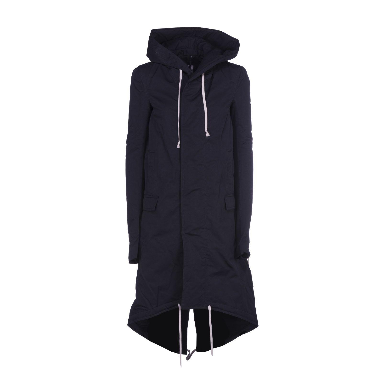 Rick Owens Drkshdw Hooded Coat