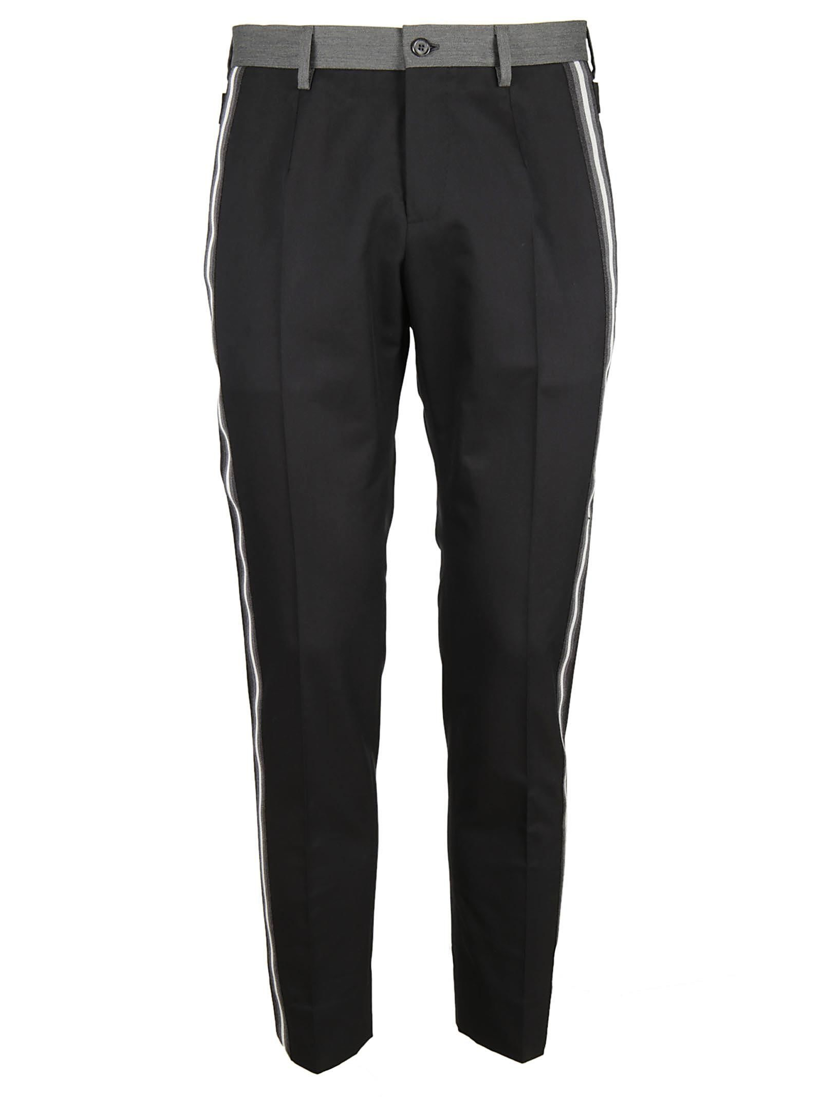 Dolce & Gabbana Stripe Trim Trousers
