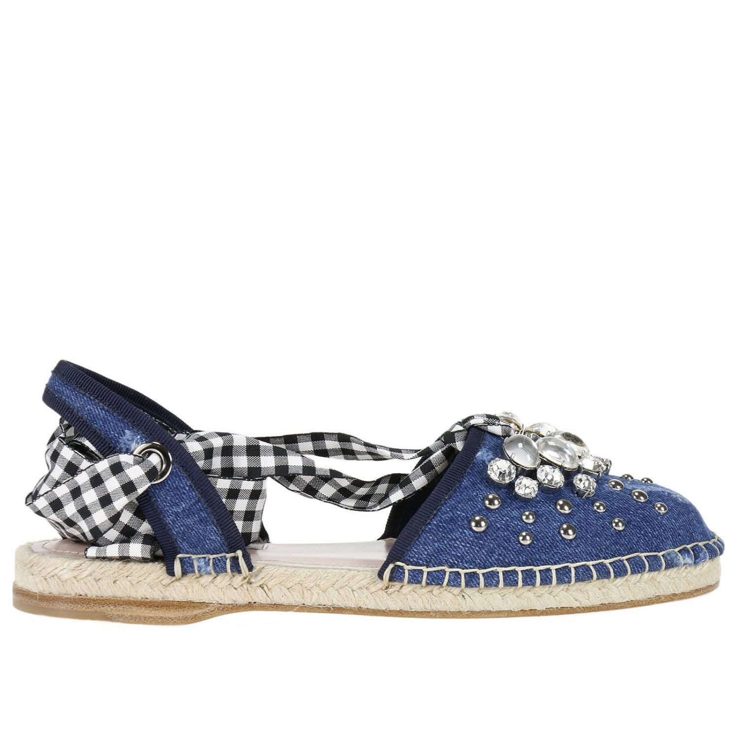 Flat Shoes Shoes Women Miu Miu