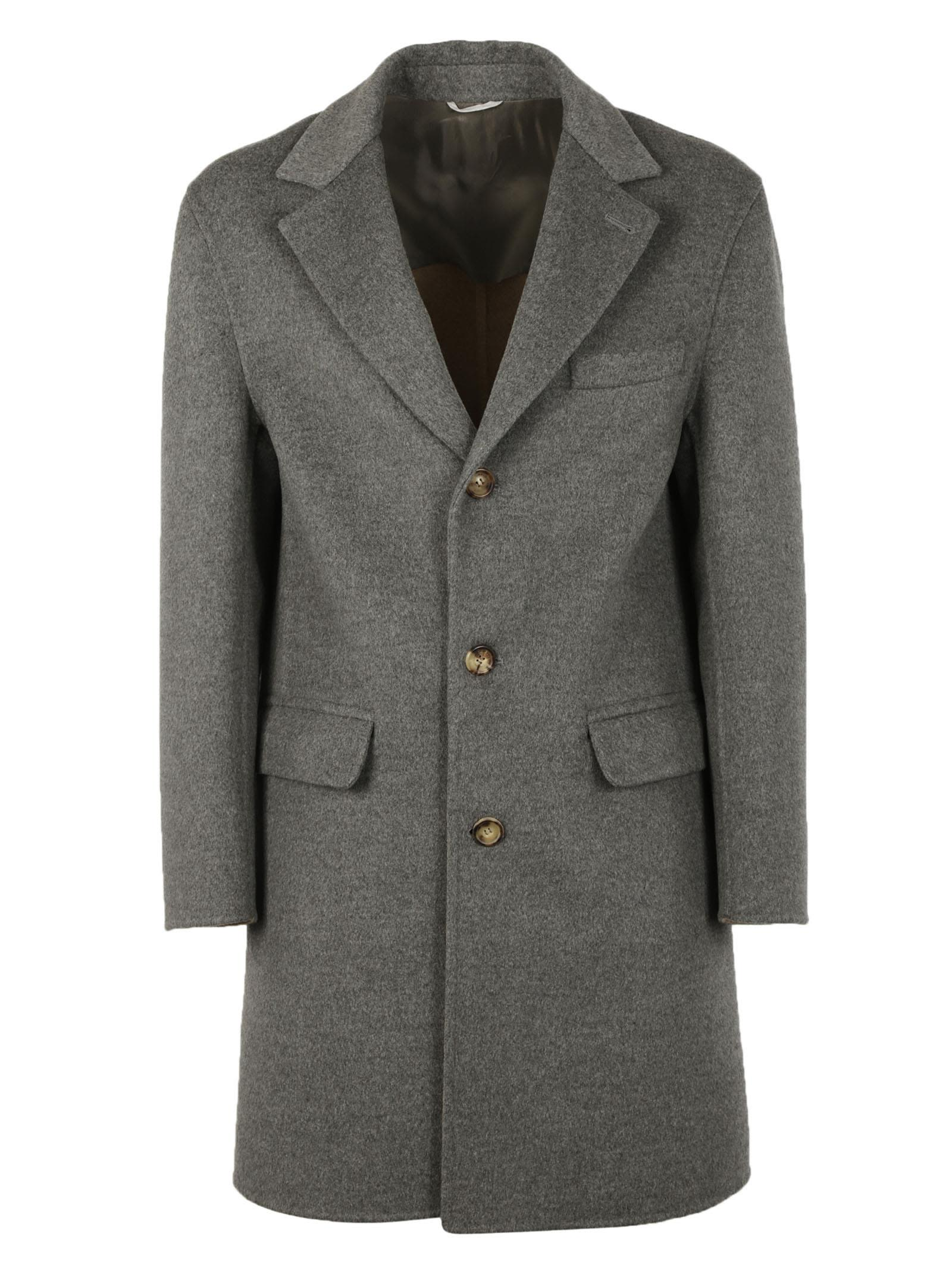 Brunello Cucinelli Tailored Long Sleeved Coat