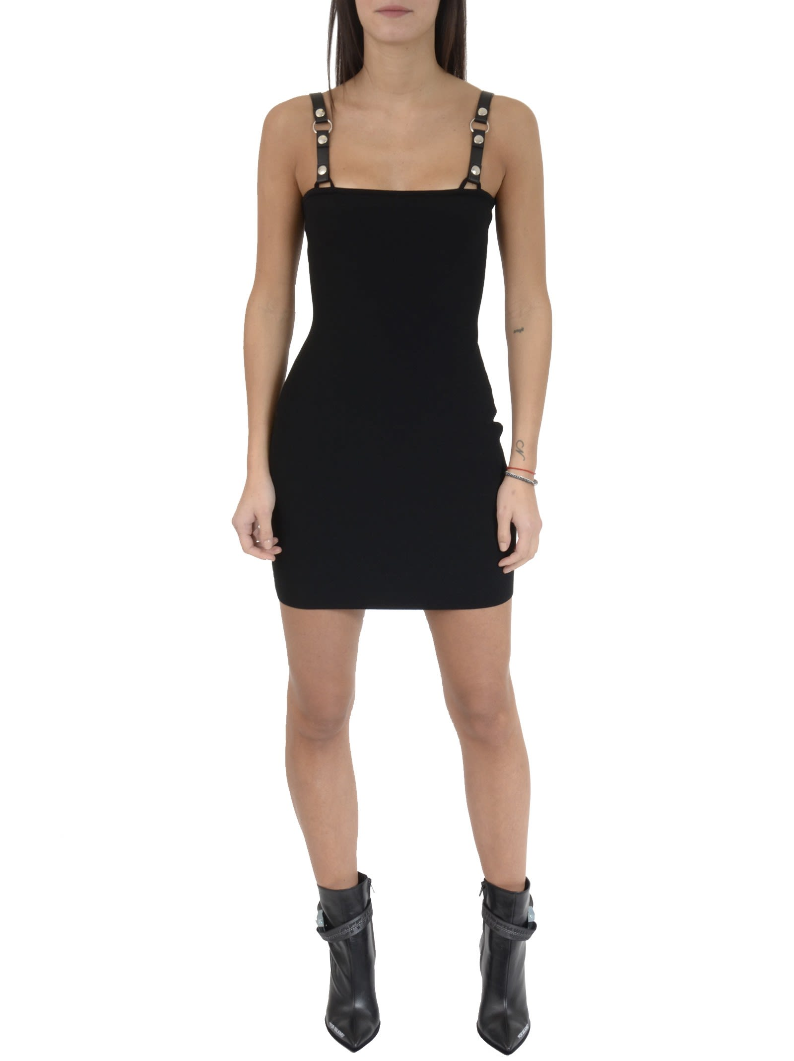Alyx Knit Dress With Leather Strap