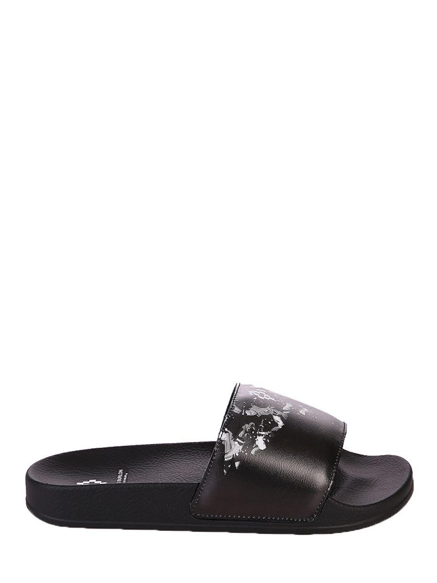 Printed Slide Sandals