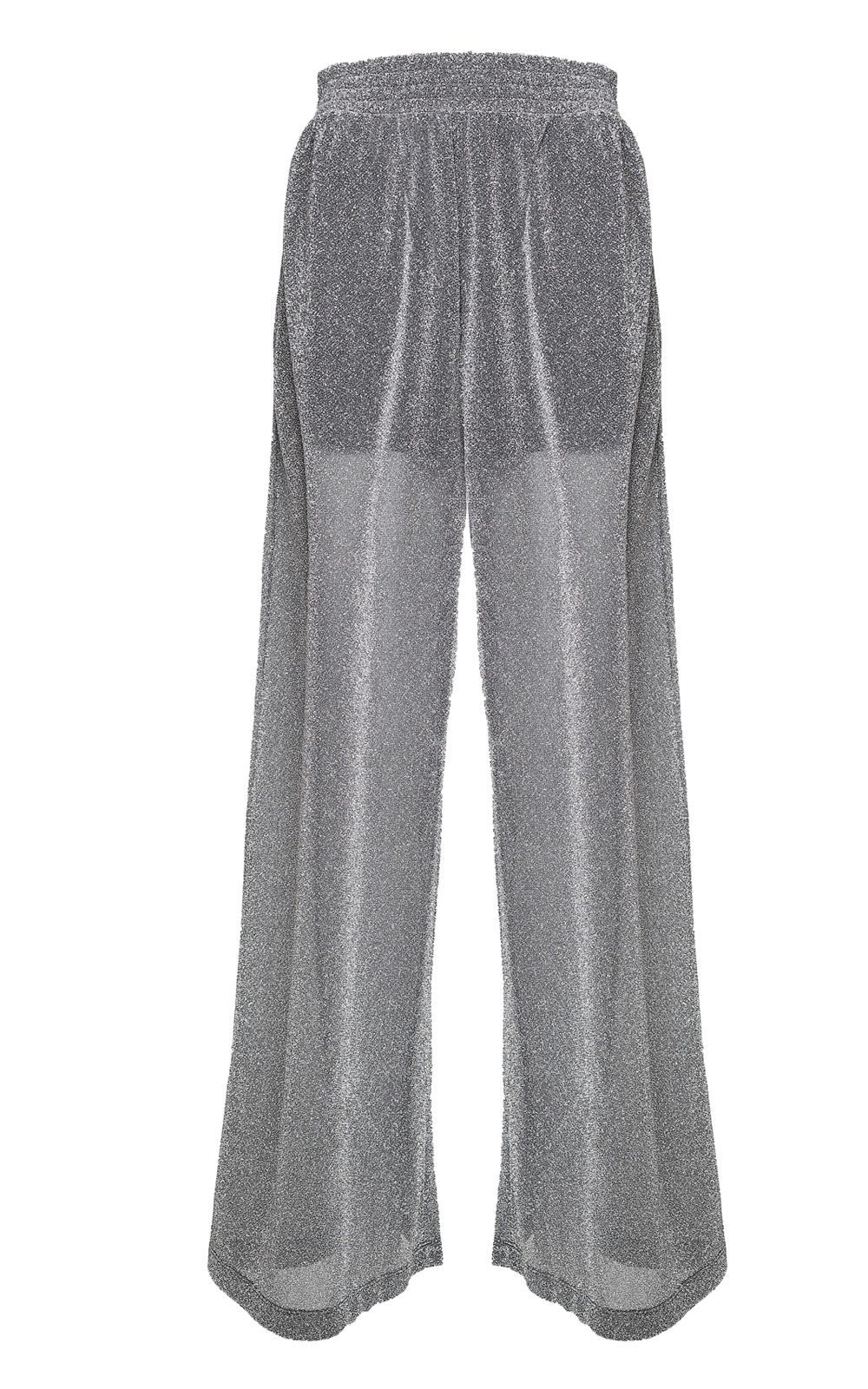 MM6 Maison Margiela Wide-leg Lurex Trousers