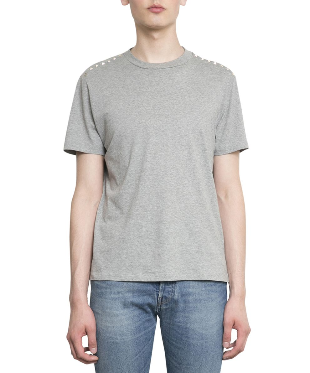 Valentino Rockstud Untitled Cotton T-shirt