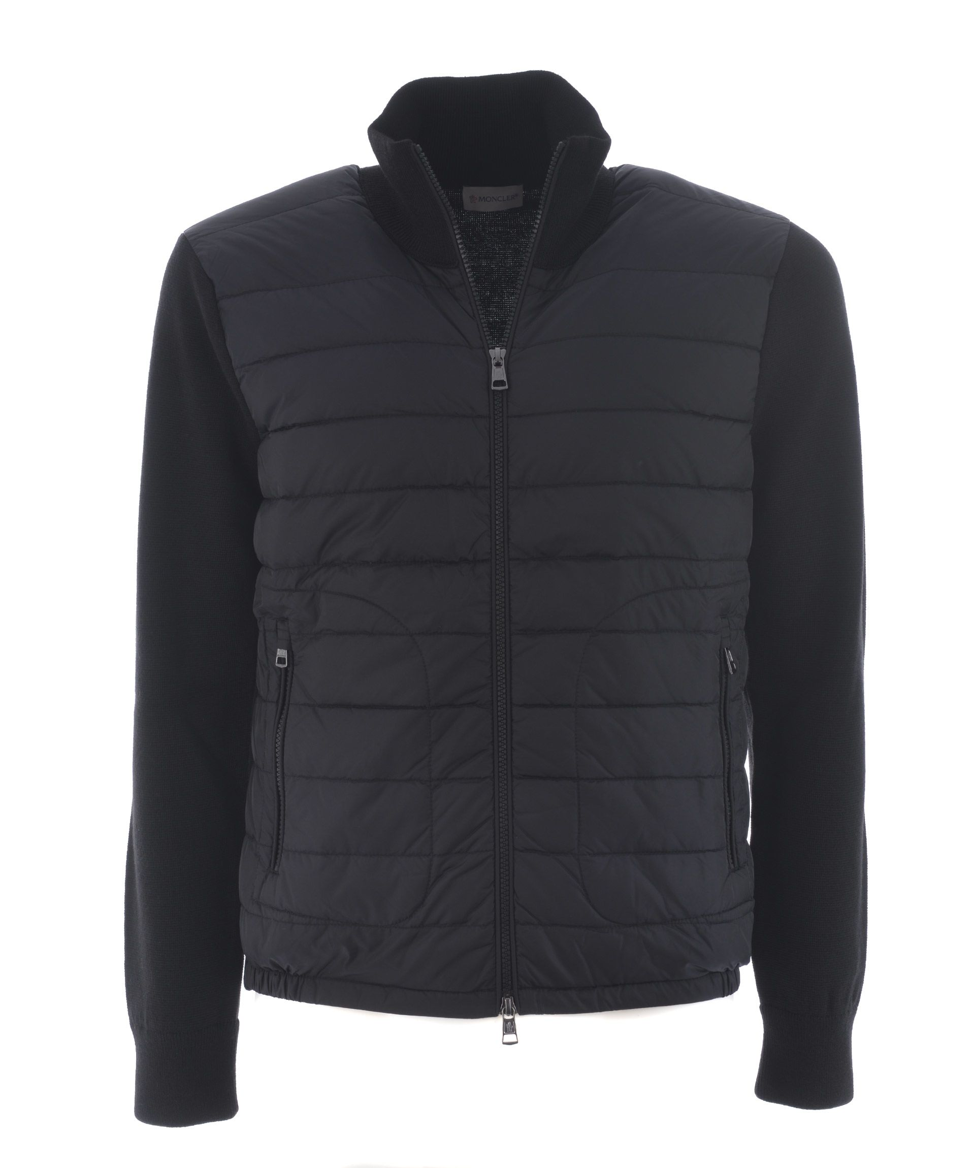 Moncler Knitted Sleeve Jacket