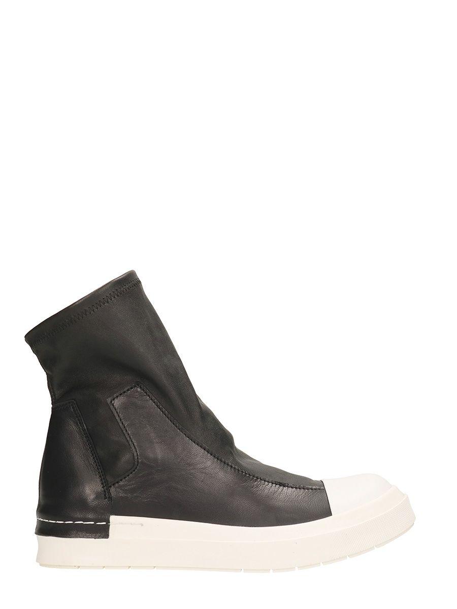 Cinzia Araia Stretch Slip Black Sneakers