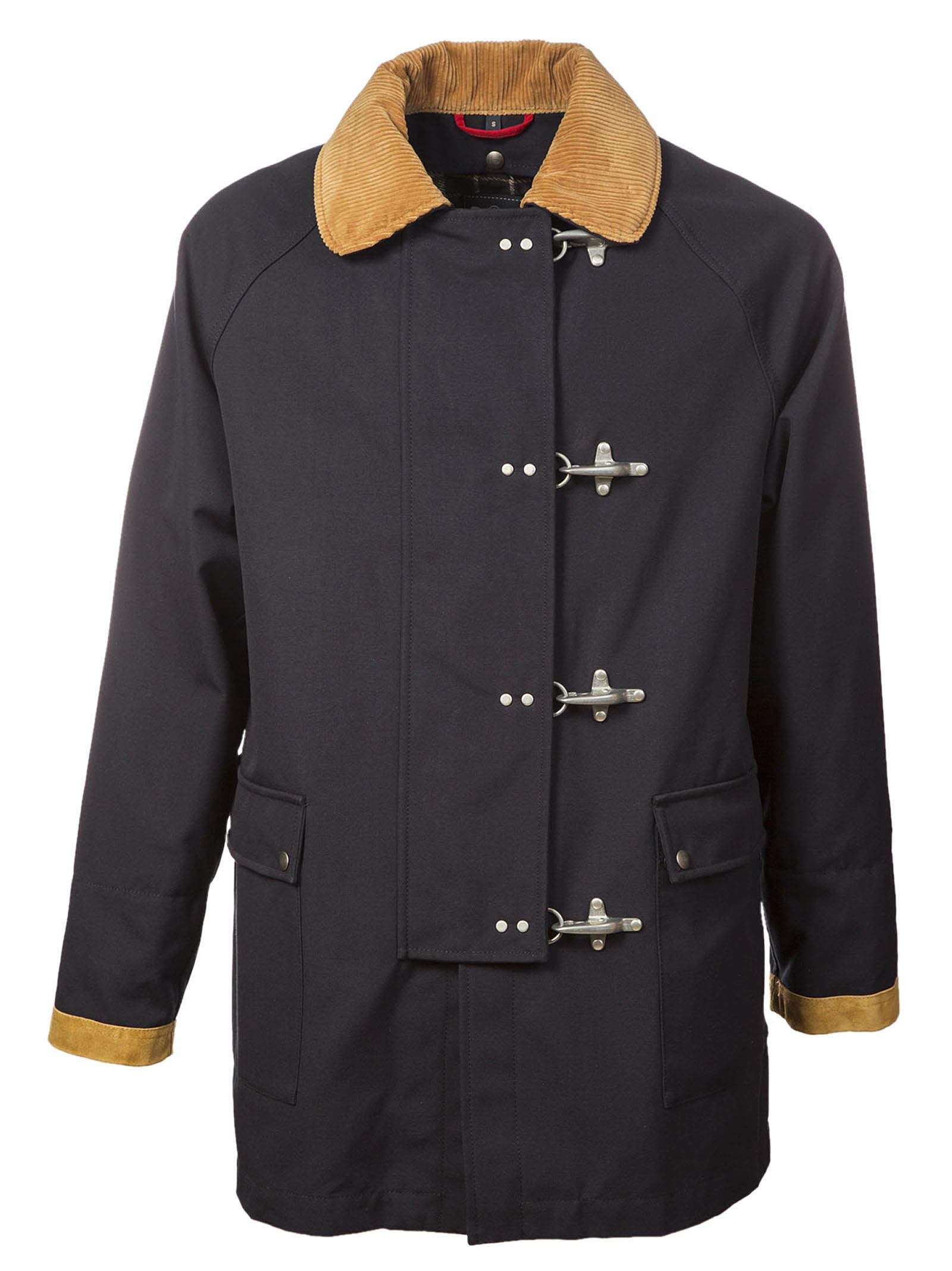 Fay - Fay Oversized Duffle Coat - Blu, Men's Coats | Italist