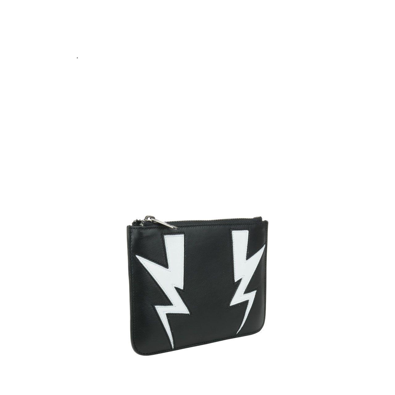 Neil Barrett Abstracted Bolt Small Wallet