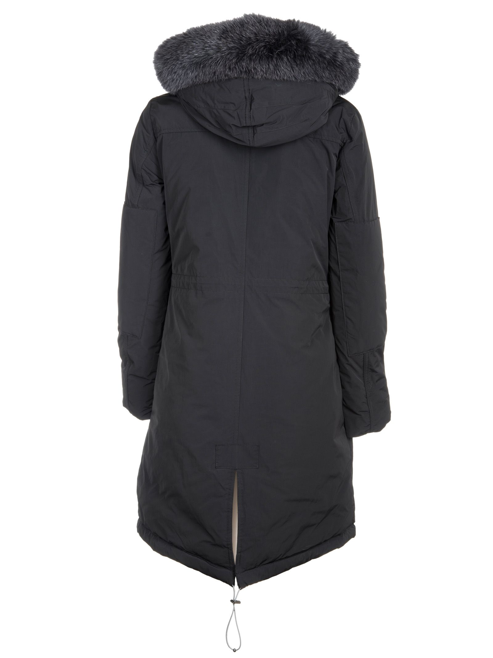 woolrich woolrich high collar military parka fur black. Black Bedroom Furniture Sets. Home Design Ideas