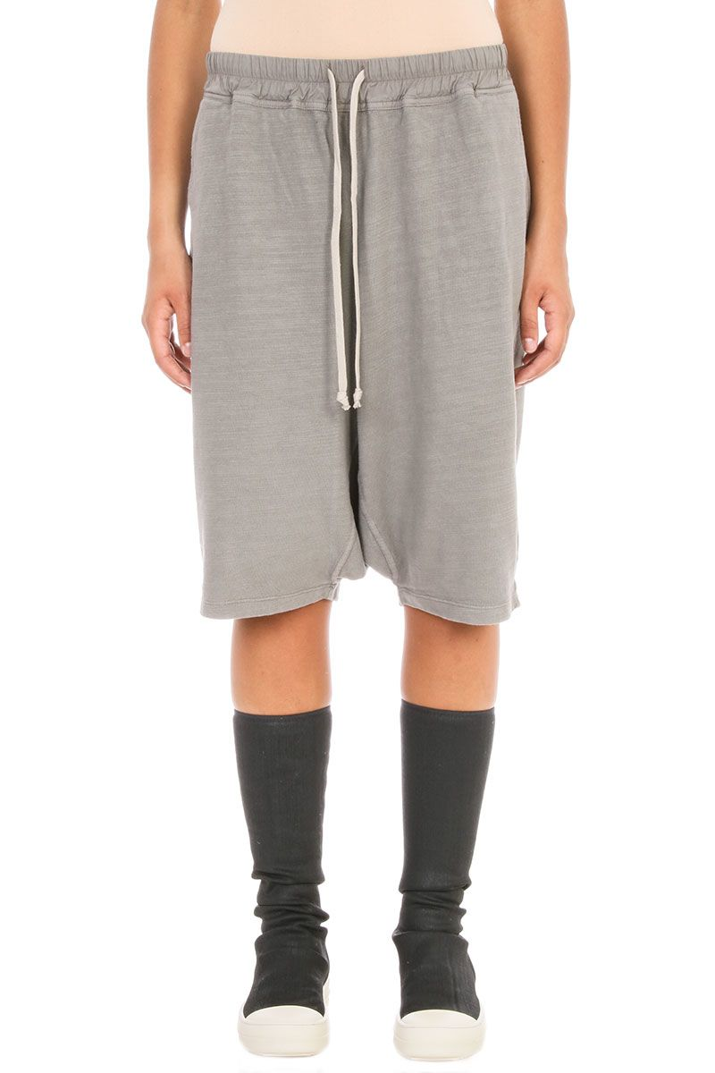 DRKSHDW Pod Drop-crotch Track Grey Short