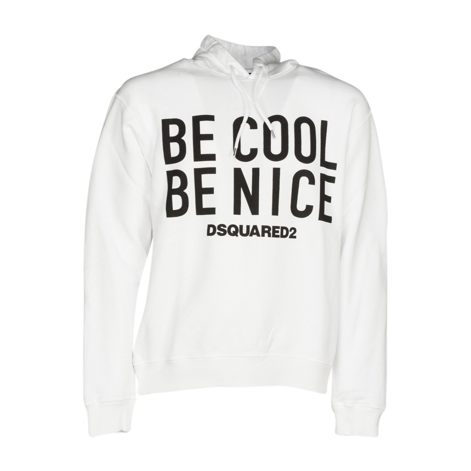 Dsquared2 Be Cool Be Nice Print Hoodie