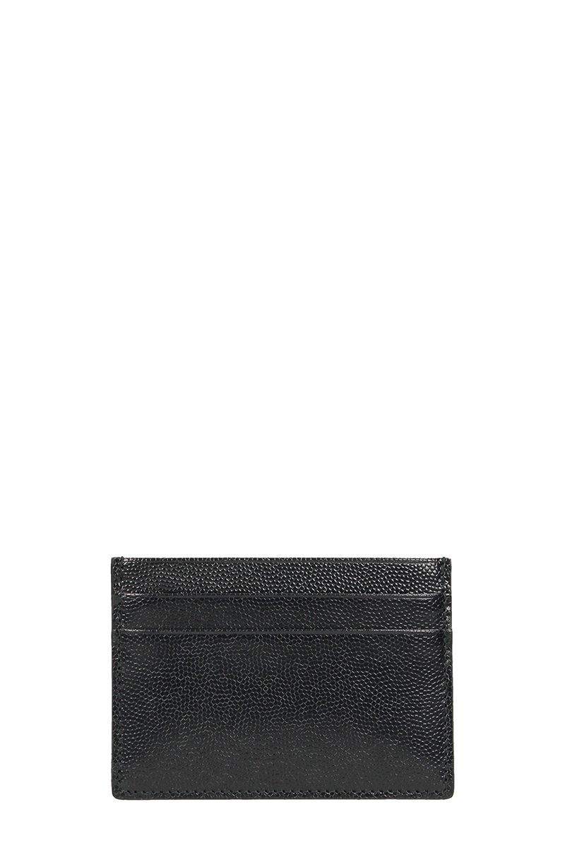 Common Projects Black Leather Cardholder