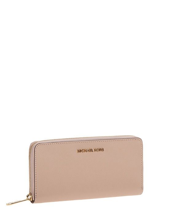 MICHAEL KORS WALLET JET SET TRAVEL SAFFIANO CONTINENTAL