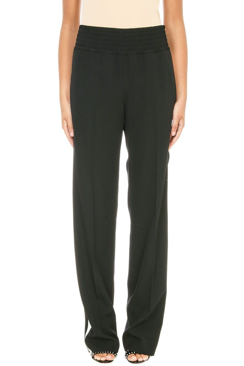 Givenchy Contrast Stripe Black Trousers