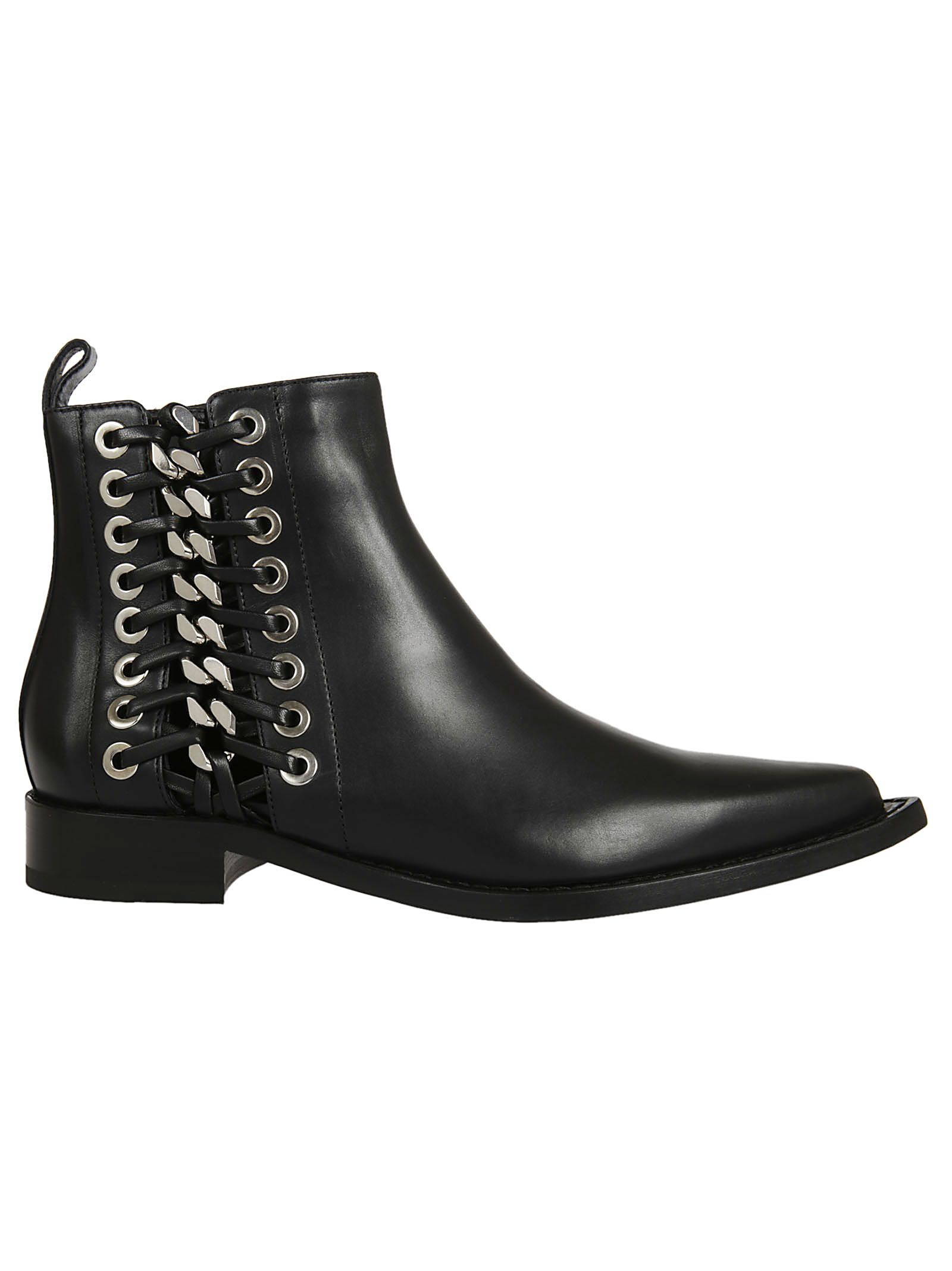 Alexander McQueen Mcq Lace Ankle Boots