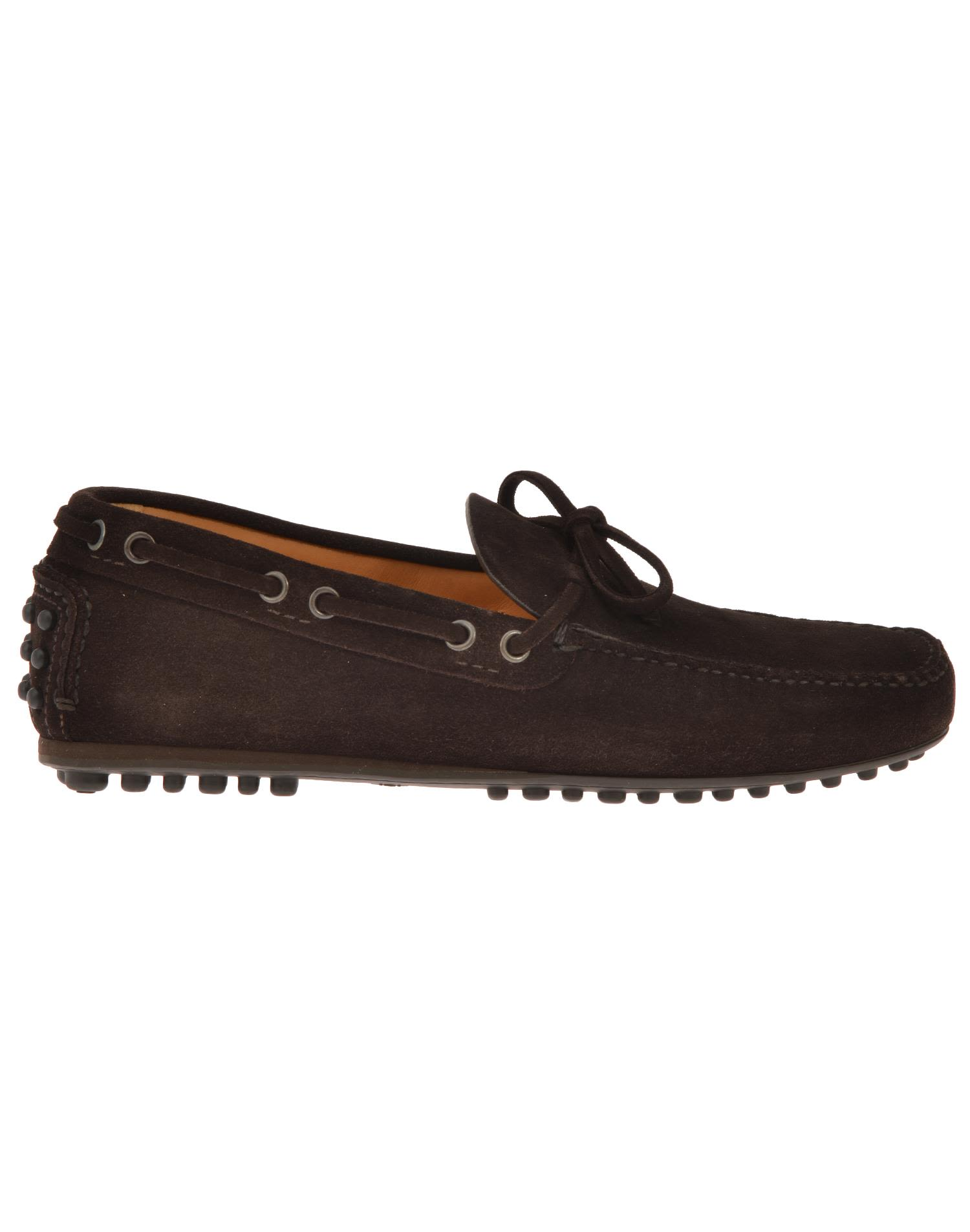 Car Shoe Leather Loafer