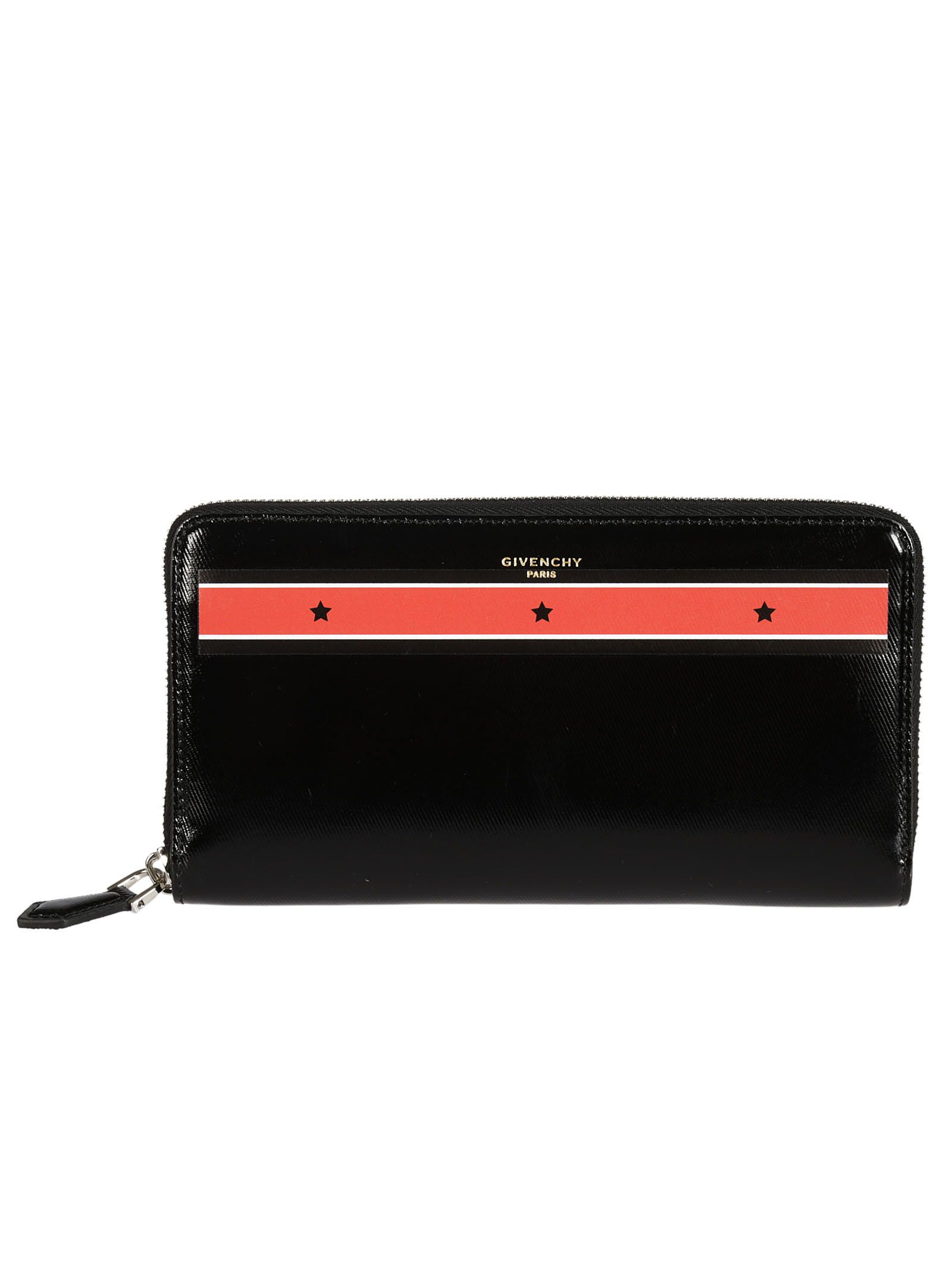Givenchy Logo Plaque Continental Wallet