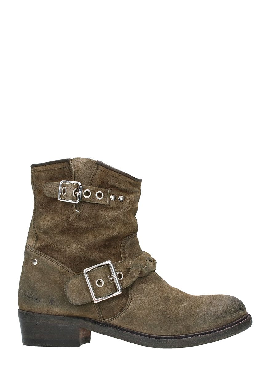 Golden Goose Karen Military Boots