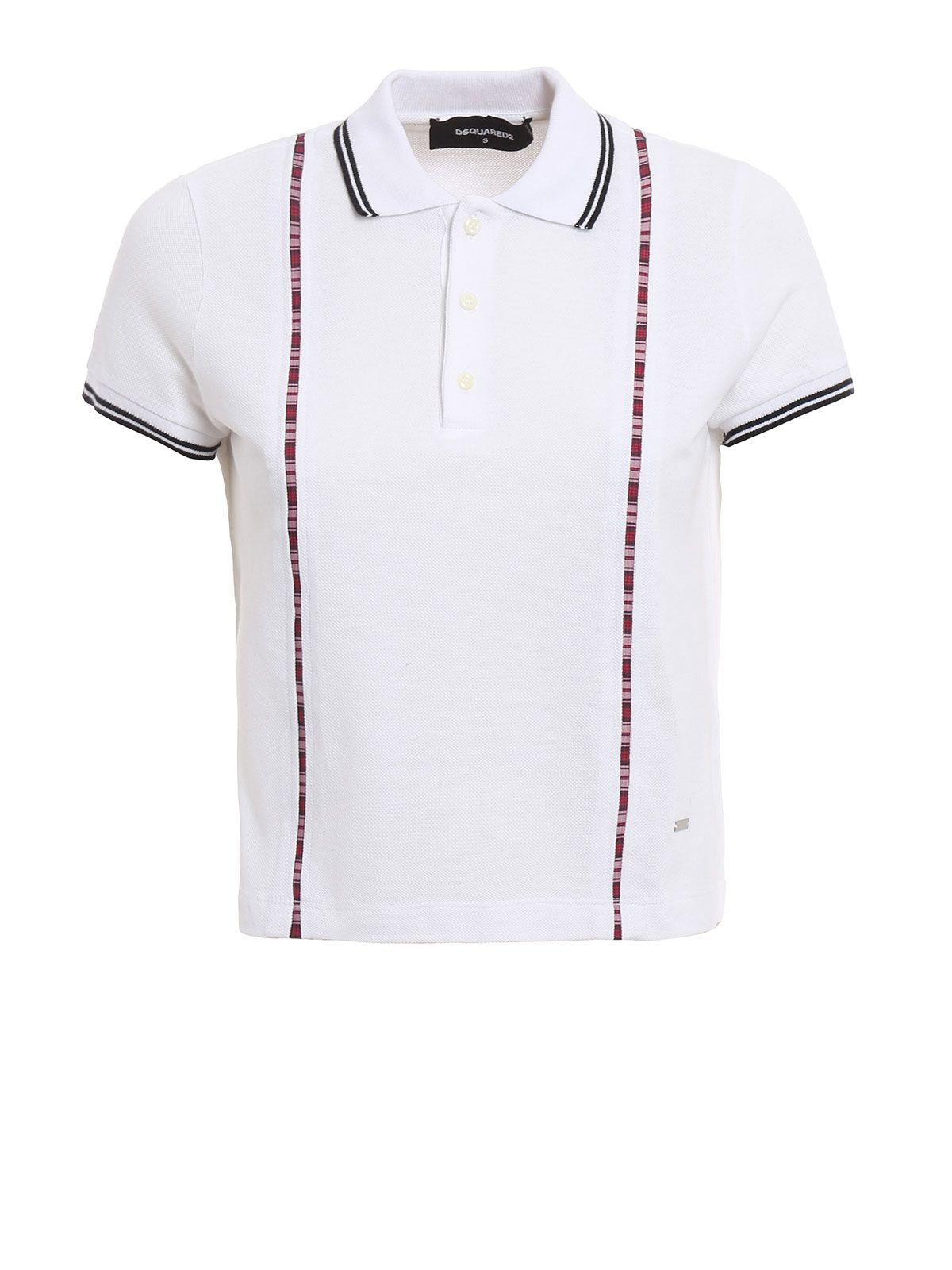 Faux Suspenders Polo Shirt