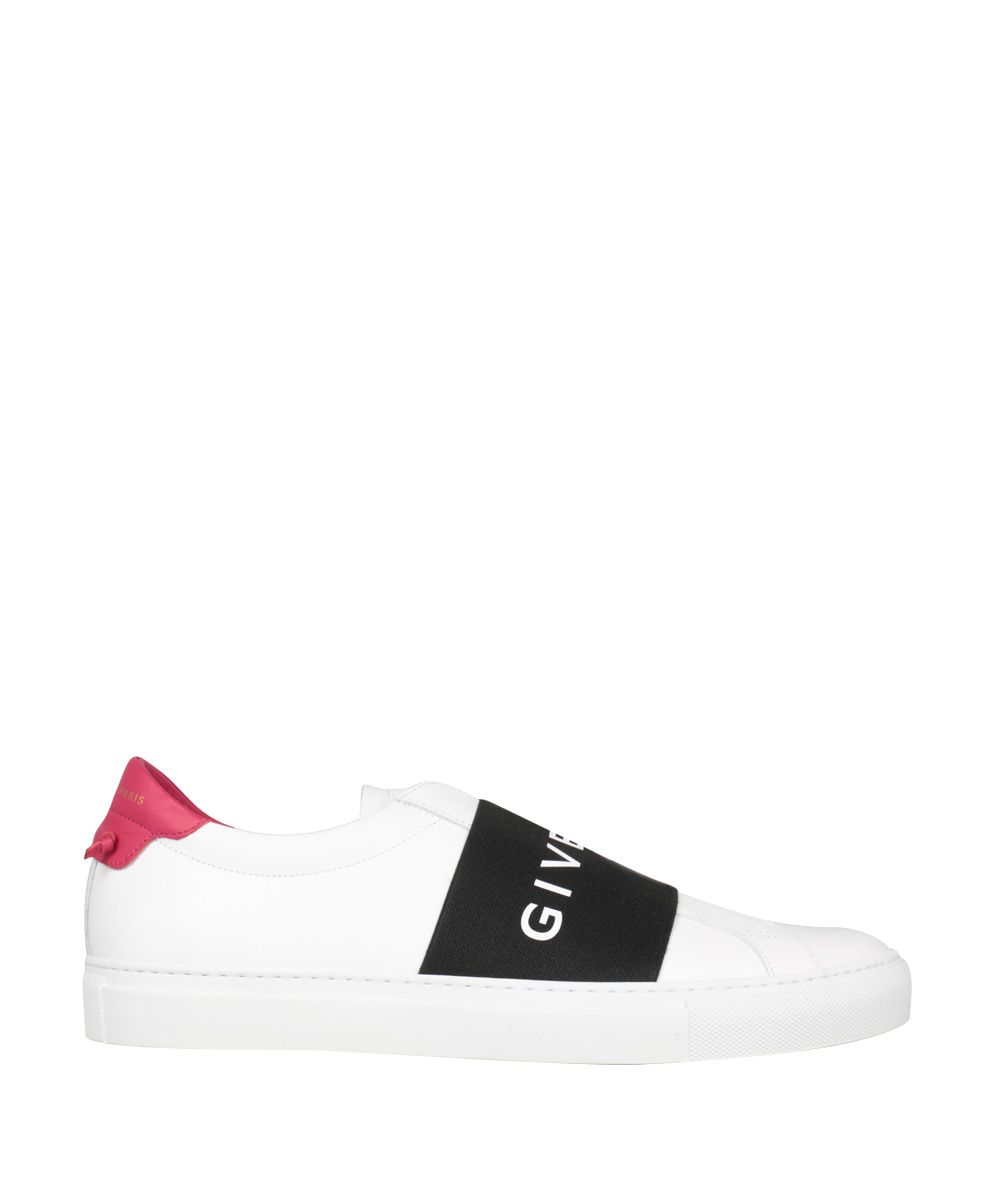 Givenchy Urban Street Elastic Leather Sneakers