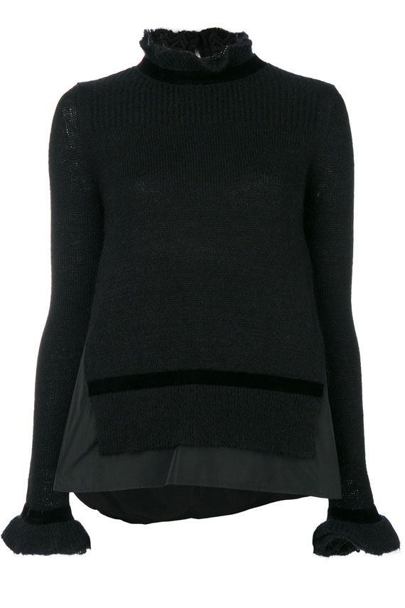 Moncler Turtleneck With Rouge