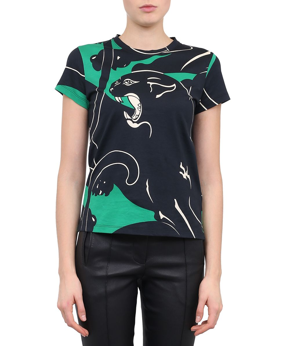 Valentino Panther Cotton T-shirt
