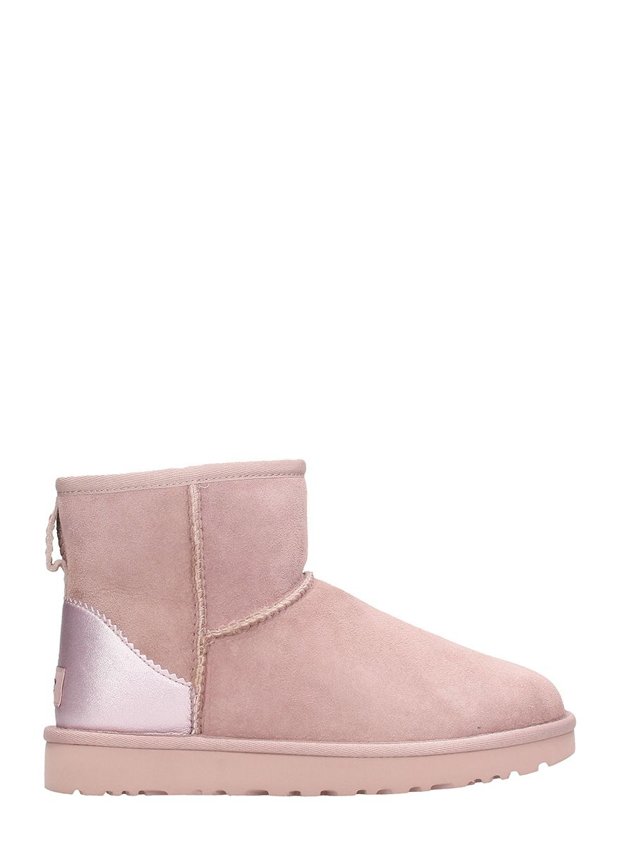 UGG Mini Classic Metallic Pink