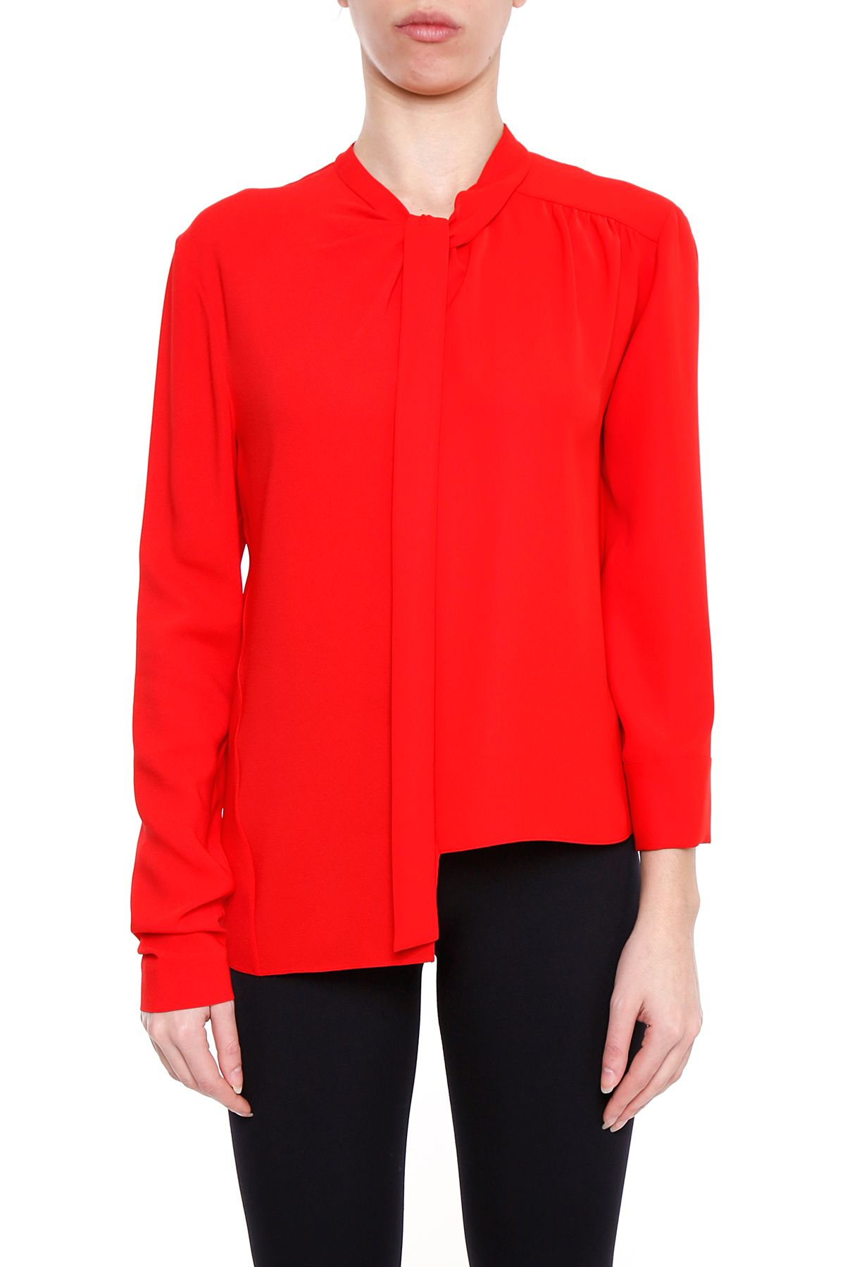 Crepe And Cady Blouse