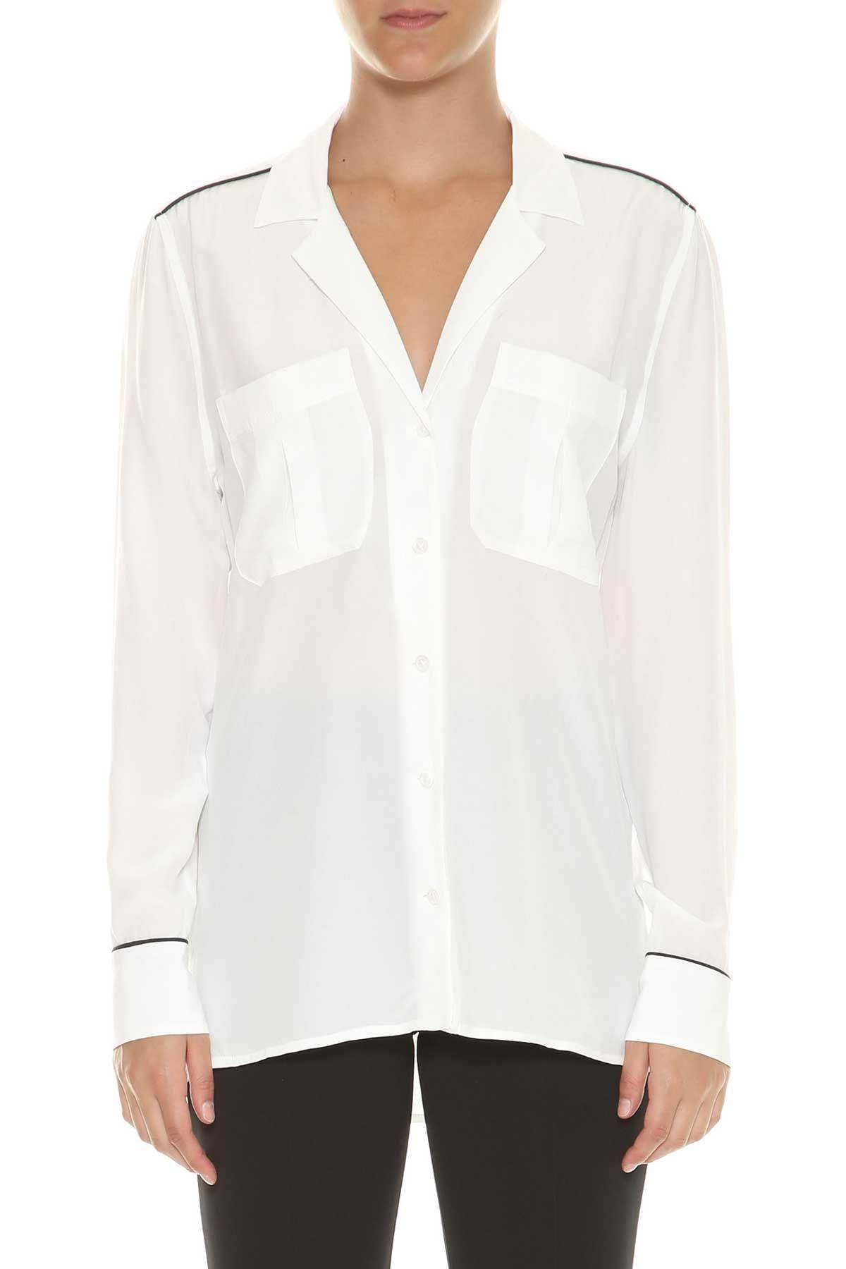 Equipment sonny Silk Pijama Shirt