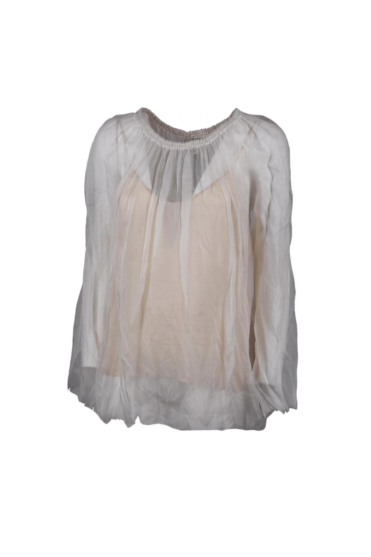 Forte Forte Sheer Layered Blouse