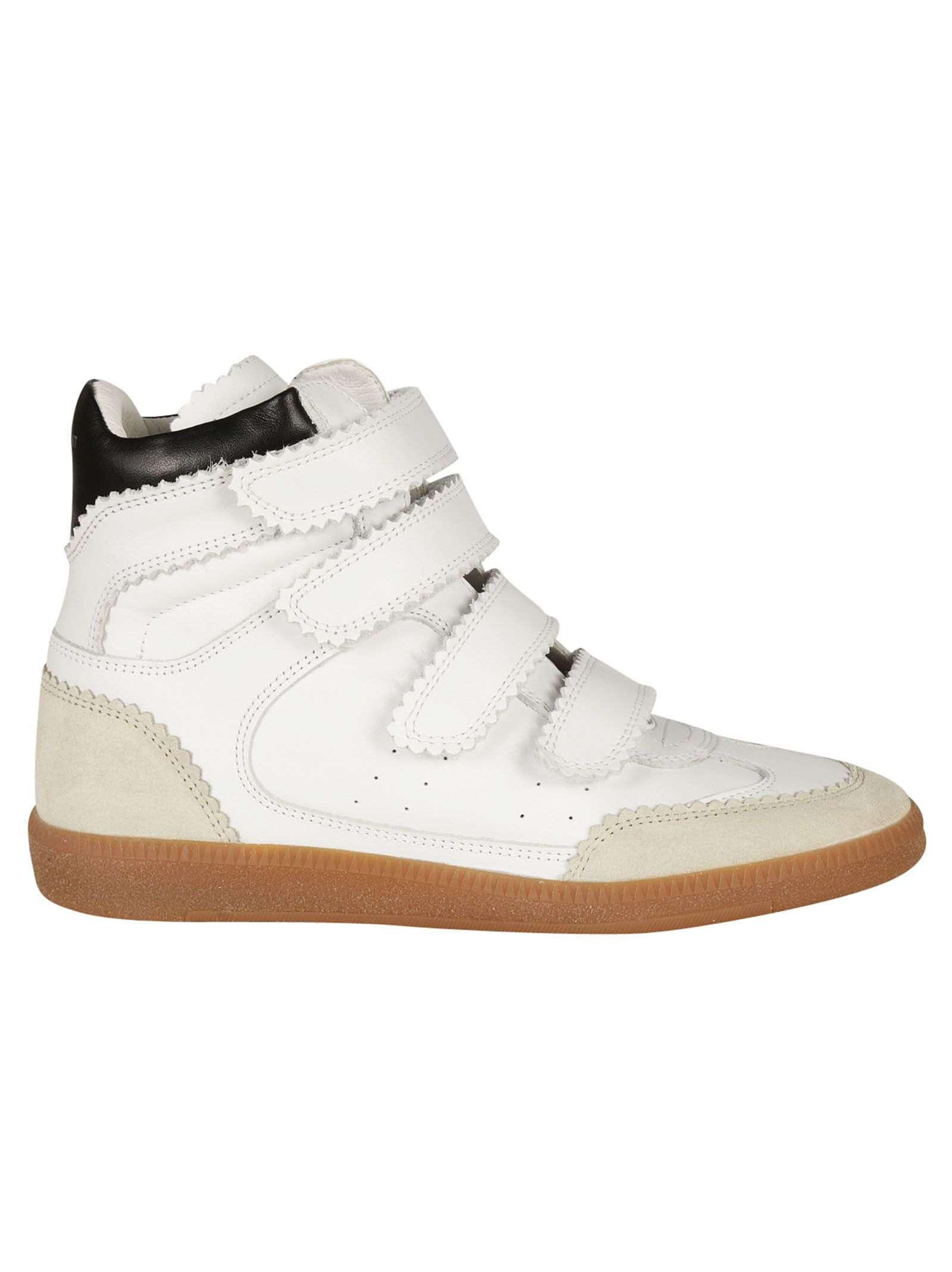 isabel marant isabel marant bilsy hi top sneakers white women 39 s sneakers italist. Black Bedroom Furniture Sets. Home Design Ideas