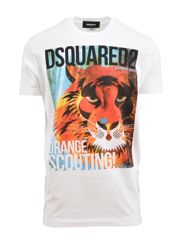 Dsquared2 Lion T-shirt White