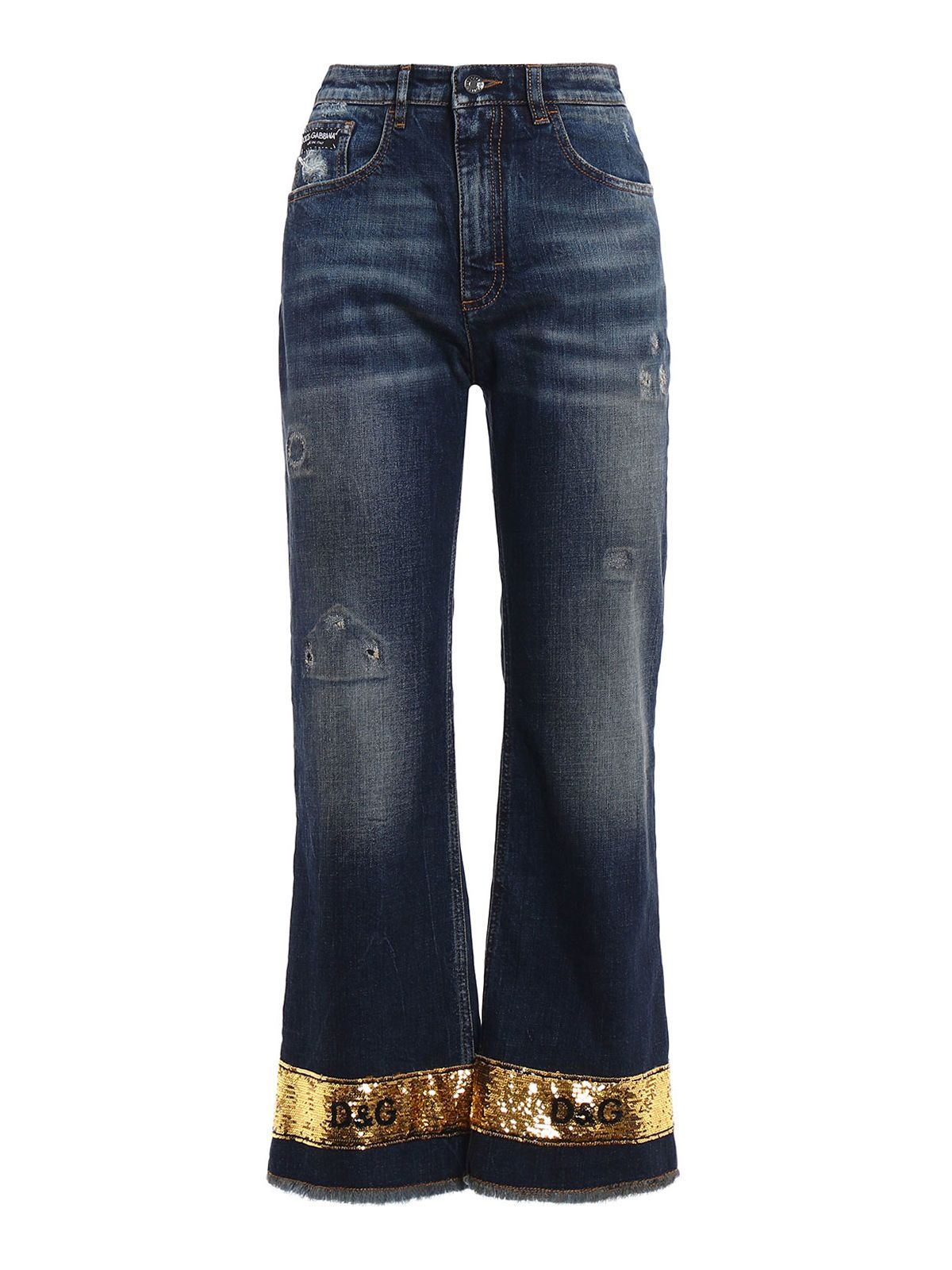 Dolce & Gabbana 5 Pocket Denim Pants